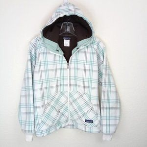 Patagonia Plaid Slopestyle Hoody Jacket